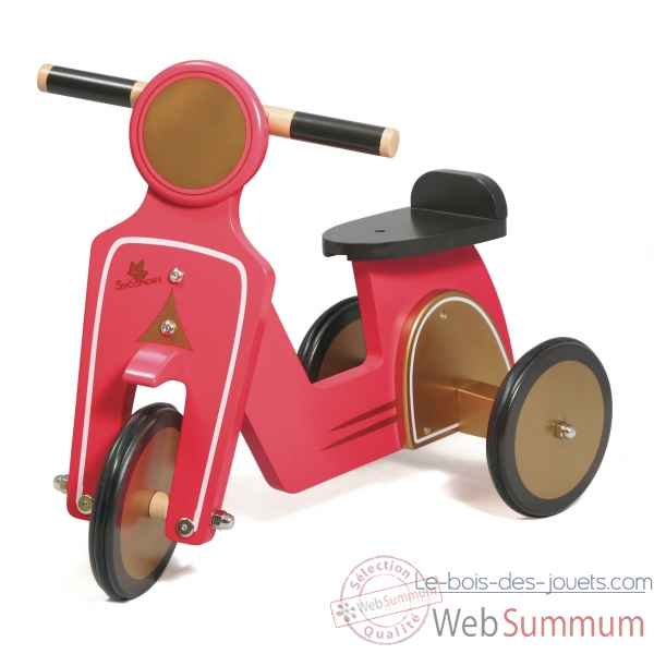Porteur scooter  rose Au Sycomore -POR125F