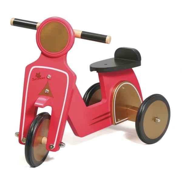 Porteur scooter vert Au Sycomore -POR125