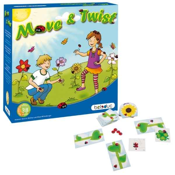 Jeu de societe move & twist Beleduc -22421