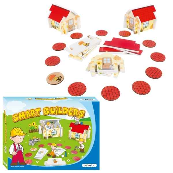 Jeu de societe smart builders Beleduc -22520