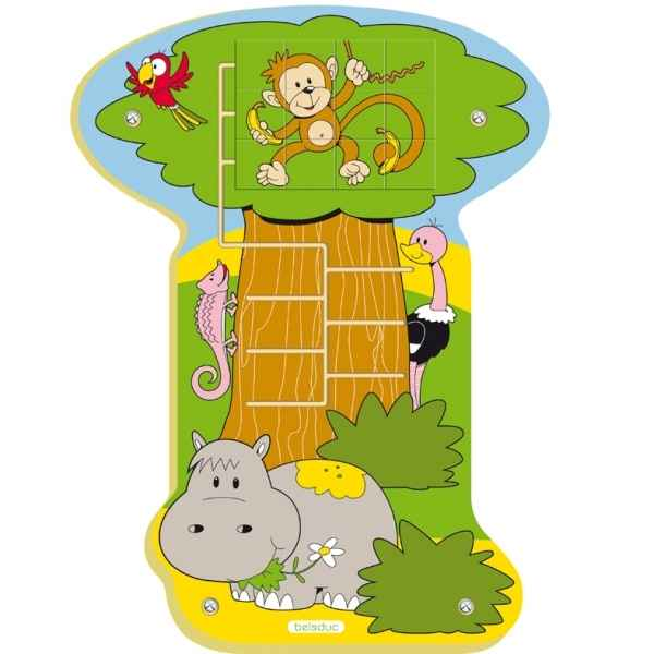 Jeu mural jungle singe Beleduc -23690