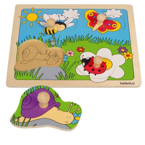 Puzzle a boutons prairie Beleduc -10145