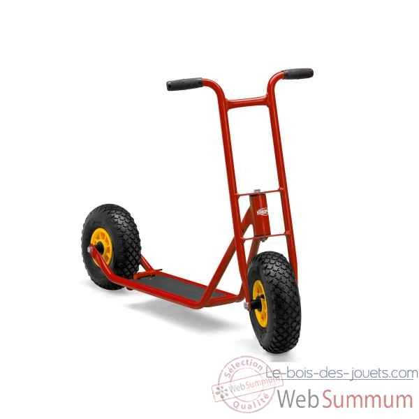 Junior trottinette steppy 70 rouge berg toys -25.23.63