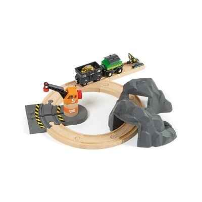 circuit train en bois brio le bois des jouets. Black Bedroom Furniture Sets. Home Design Ideas