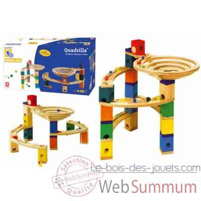 Circuit a billes en bois Quadrilla Set de base -3684605