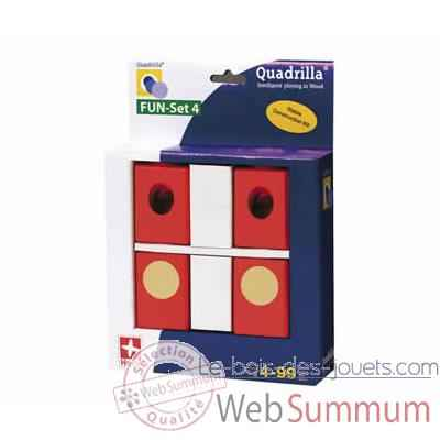 Circuit a billes Quadrilla Fun set 4 Blocs -3684609