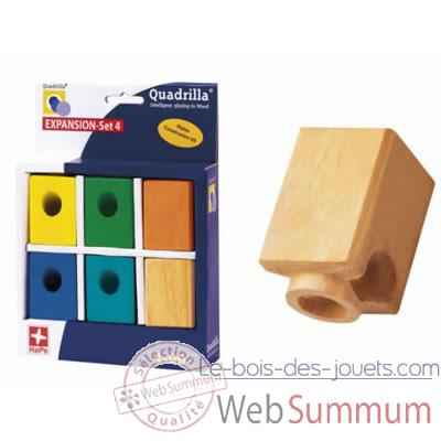 Circuit a billes Quadrilla Expansion 4 Blocs colores -3684613