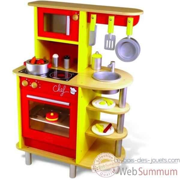 Cuisines pour enfants chez lavinia for Cuisine en bois jouet ikea