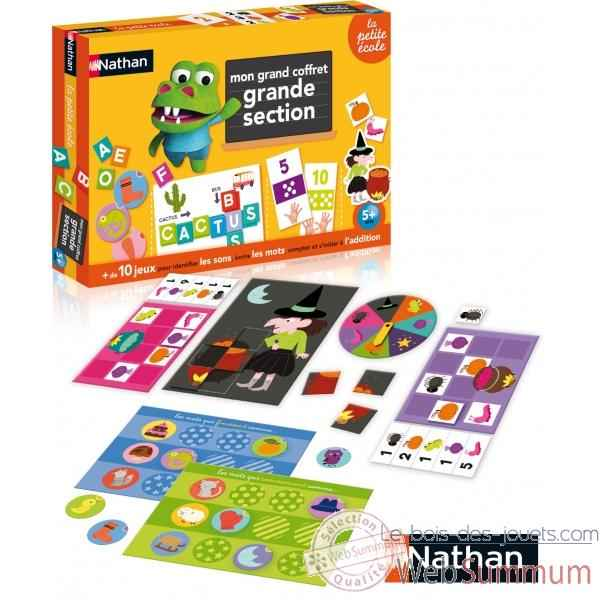 Grand coffret grande section Nathan -31413