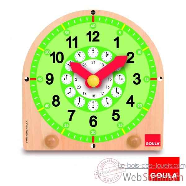 Horloge educative Goula -55125