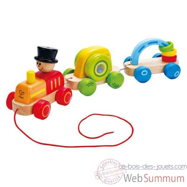 Petit train colore Hape -E0431