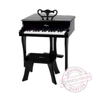 Piano a queue, noir Hape -E0320