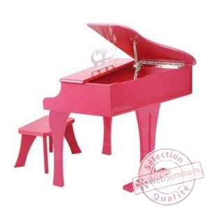 Piano a queue, rose Hape -E0319