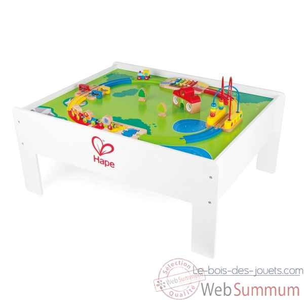 Railway table (accessories fixed) Hape -E9200