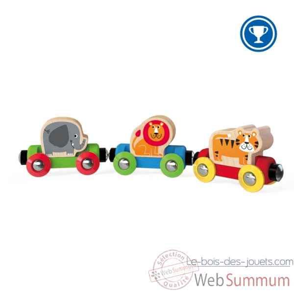 Train de la jungle Hape -E3807