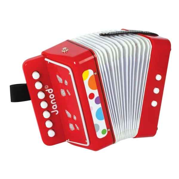 Accordeon confetti Janod -J07620