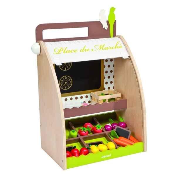 boutique place du march janod dans jouets en bois janod sur le bois des jouets. Black Bedroom Furniture Sets. Home Design Ideas