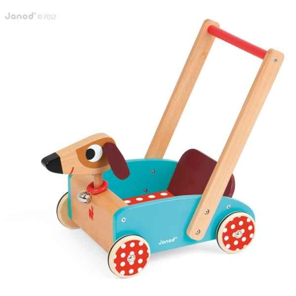 Chariot crazy doggy Janod -J05995