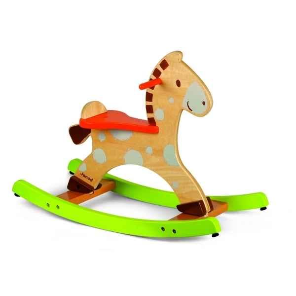cheval bascule pomme de pin janod dans bascule et trotteurs sur le bois des jouets. Black Bedroom Furniture Sets. Home Design Ideas