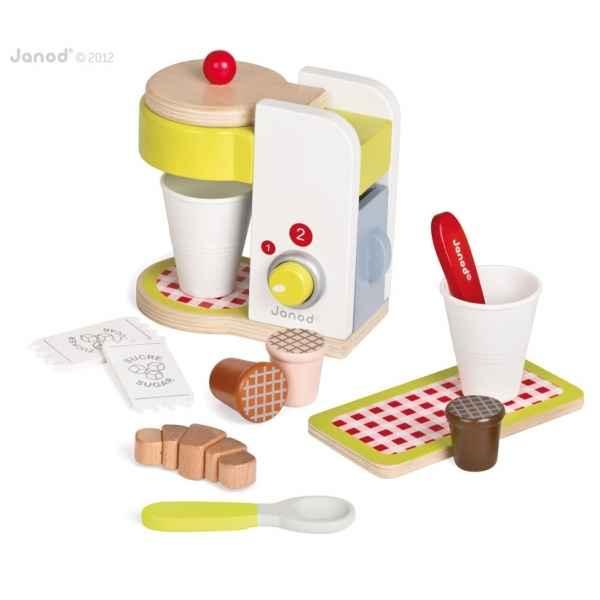 Machine expresso picnik janod dans jouets en bois janod for Cuisine en bois janod