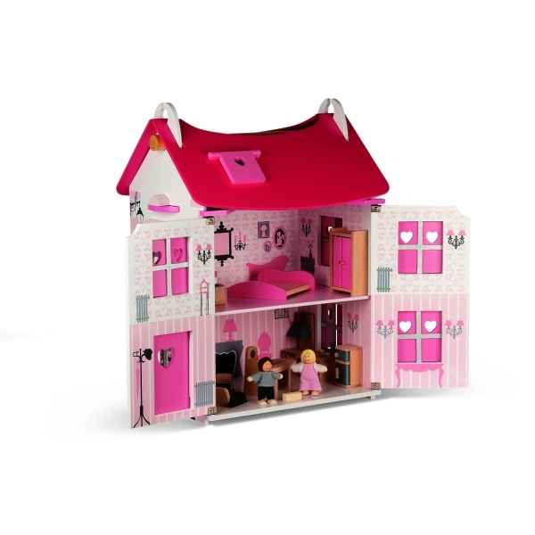 maison en bois janod. Black Bedroom Furniture Sets. Home Design Ideas