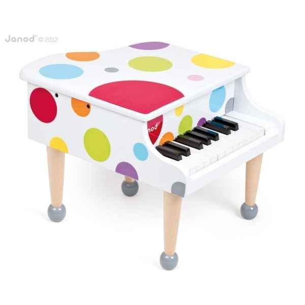 Piano a queue confetti Janod -J07627