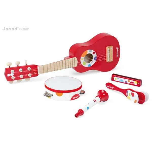 Set musical confetti music live Janod -J07626