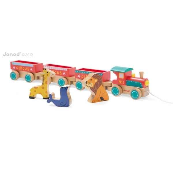 Story baby train circus Janod J08537