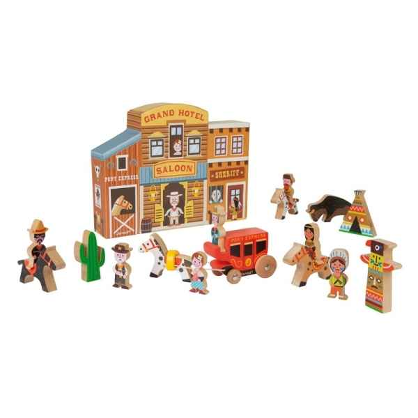 Story box far west Janod -J08526