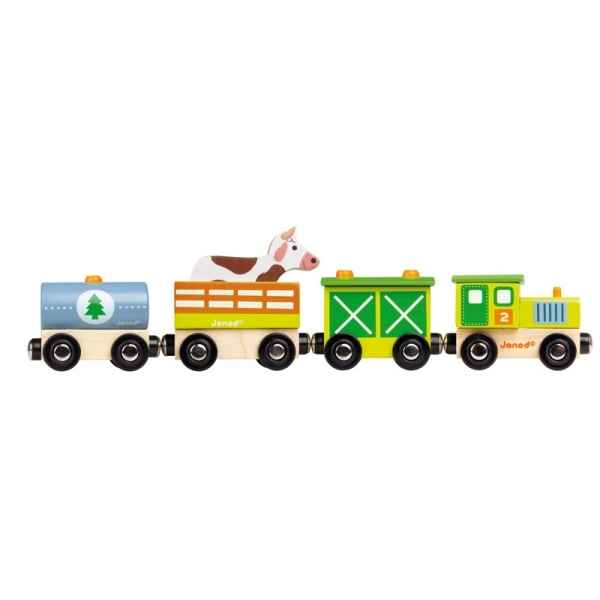 Story - train ferme Janod -J08532