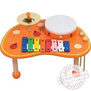 table musicale coccinelle pour enfant 0405 dans jouet instrument de musique. Black Bedroom Furniture Sets. Home Design Ideas