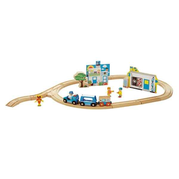Coffret circuit bois mission unicef - Brio 33014000