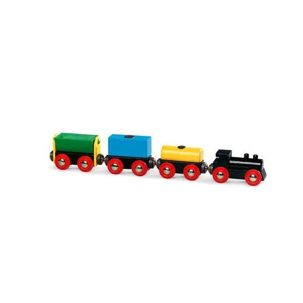 Train fret express bois - Brio 33311000