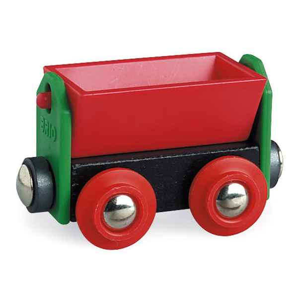 Video Wagon bois basculant rouge - Brio 33614000