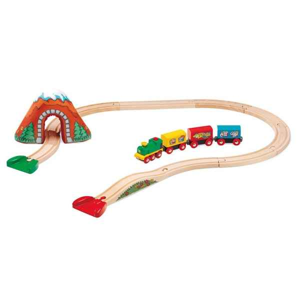 Circuit train bois a pile - Brio 33701000