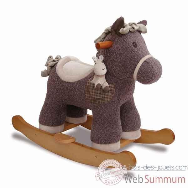 Cheval a bascule bobble & pip Little bird told me -LB3027