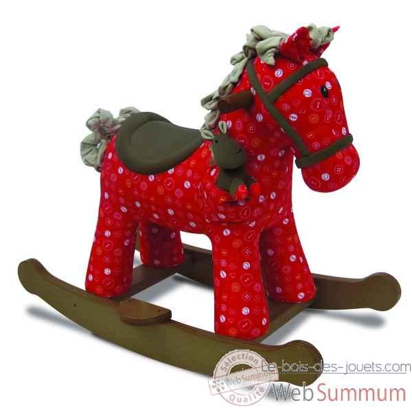 porteur cheval janod j05993 dans bascule et trotteurs sur le bois des jouets. Black Bedroom Furniture Sets. Home Design Ideas