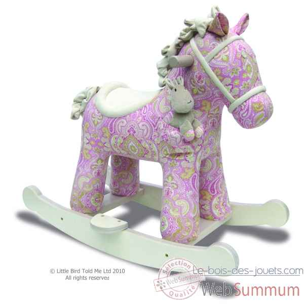 Cheval a bascule pixie & fluff Little bird told me -LB3022