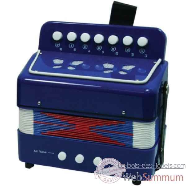 accordeon bleu New classic toys -0056