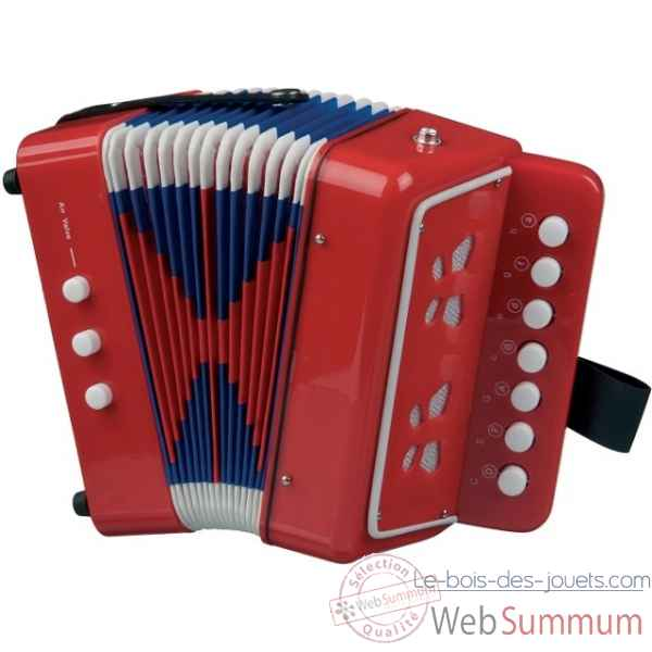 accordeon rouge New classic toys -0055