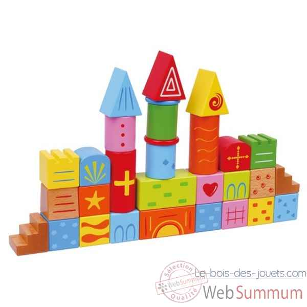 blocs fantaisie 30 pieces New classic toys -0810