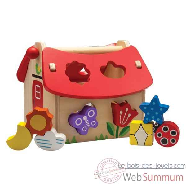 boite a formes maison New classic toys -0563