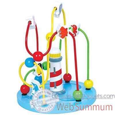 cadre perles phare New classic toys -1600
