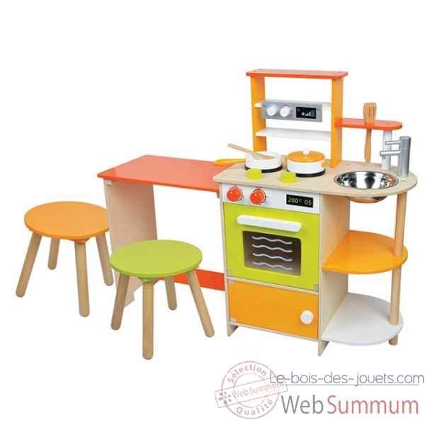 meuble maison de poup e le bois des jouets. Black Bedroom Furniture Sets. Home Design Ideas