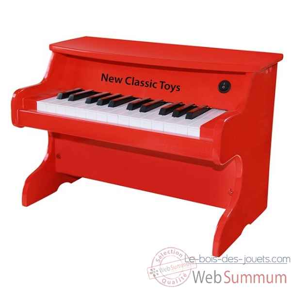 E-piano rouge 25 tons -0160
