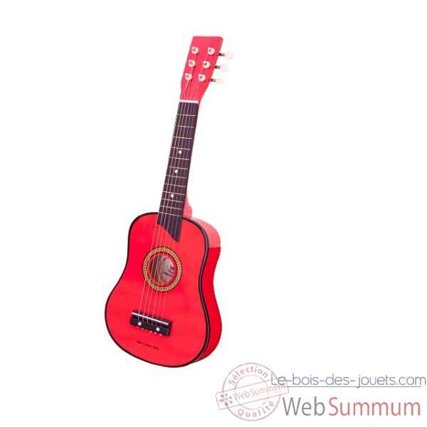 guitare de luxe rouge New classic toys -0303