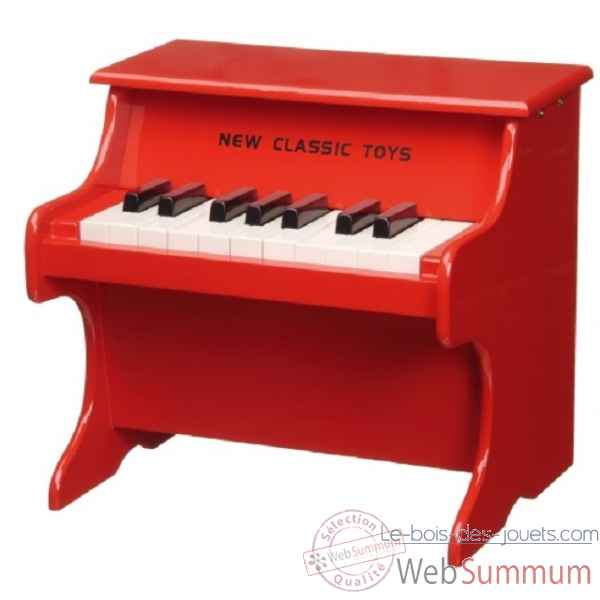 piano rouge New classic toys -0155