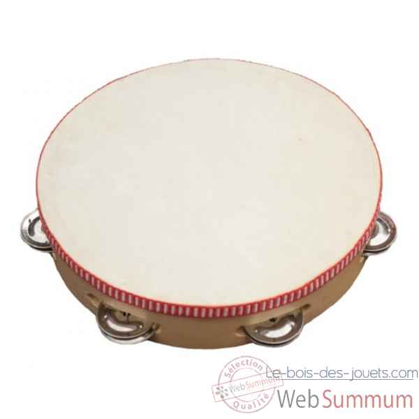 tambourin o 22 cm New classic toys -0381