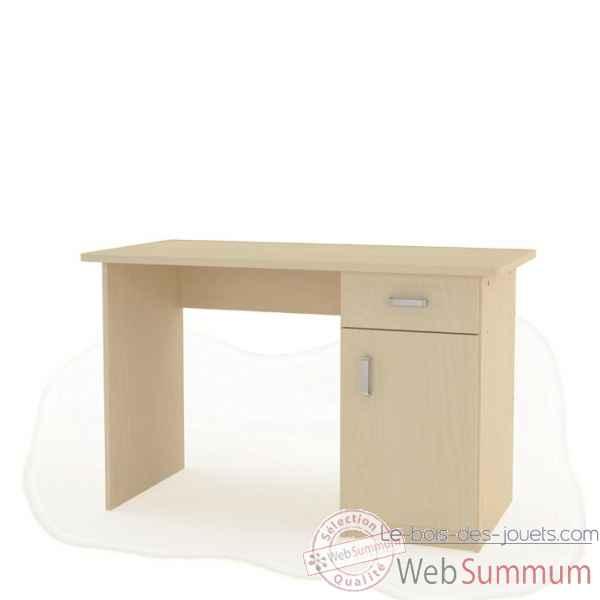 Bureau et cloison meuble et quipement cr che le bois for Equipement bureau