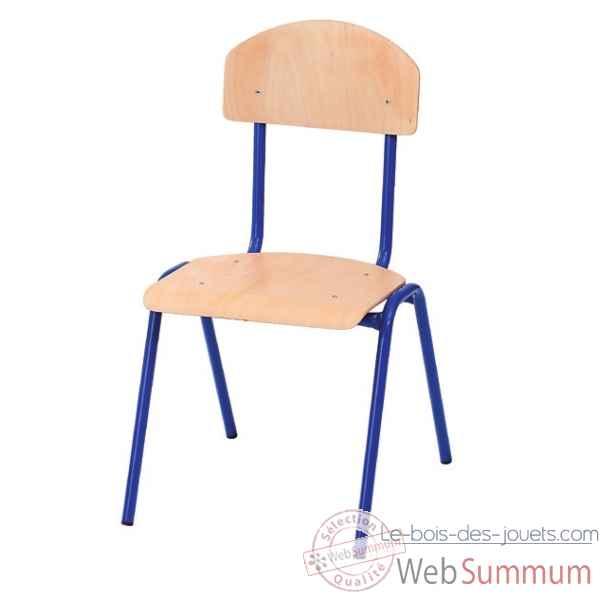 Chaise novum 21 cm bleu 4412203 de novum dans chaise sur for Chaise 87 cm